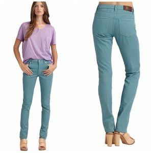 Acne studio flex skinny jeans turquoise blue